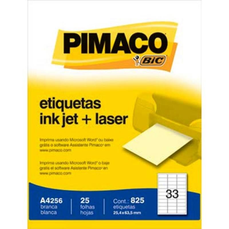 Etiqueta Pimaco A4
