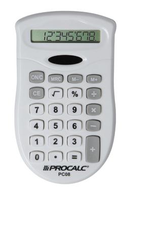 Calculadora Portátil PC08