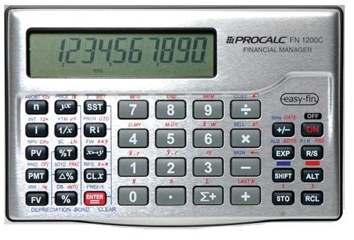 Calculadora Financeira FN1200C