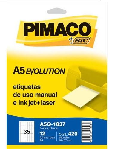 Etiqueta Pimaco A5Q Evolution