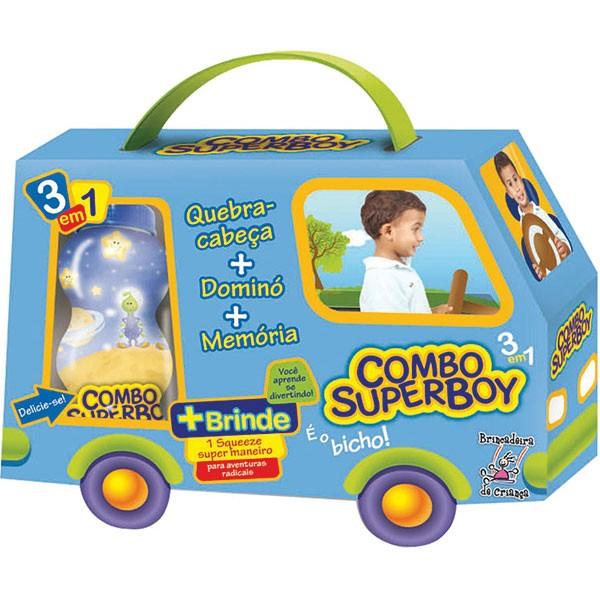 Combo SuperBoy 3 em 1