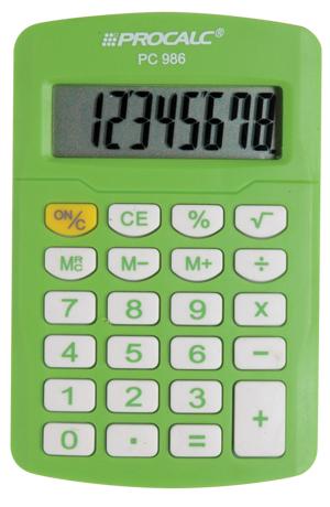 Calculadora Portátil PC986