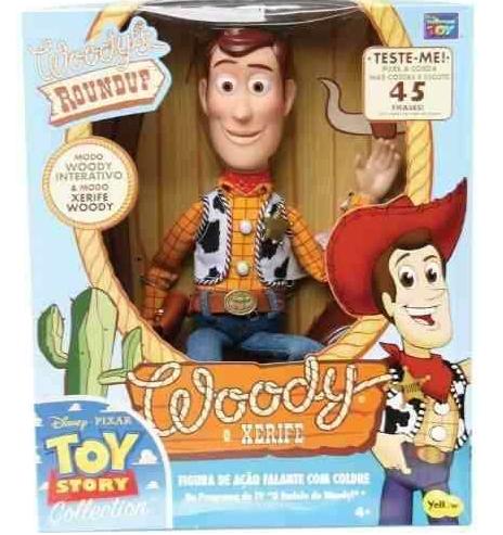 Boneco Woody c/som