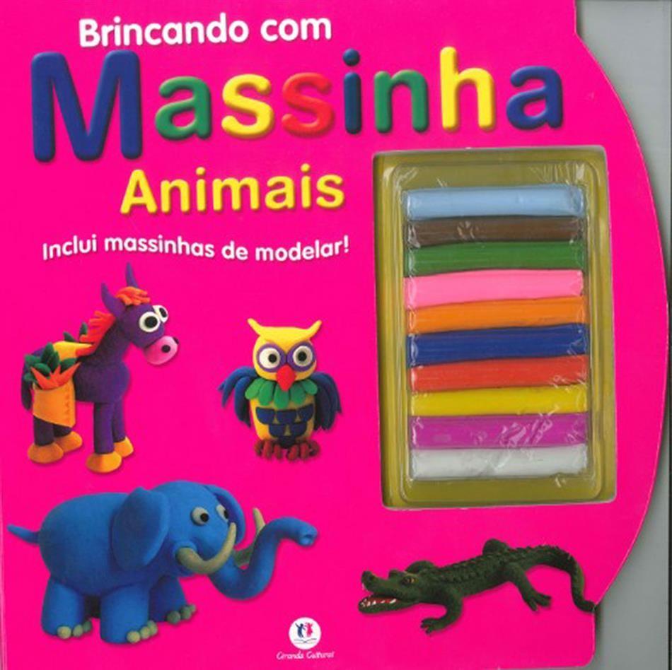 Livro Brincando com Massinha - Ciranda Cultural