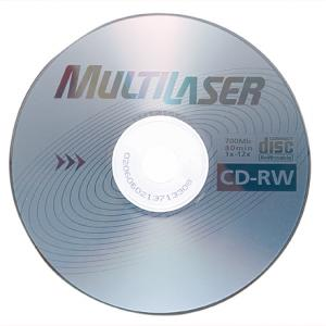 CD-RW Multilaser
