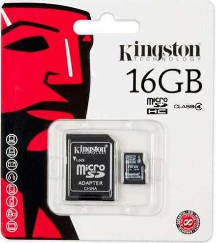 Cartão de memória 16GB