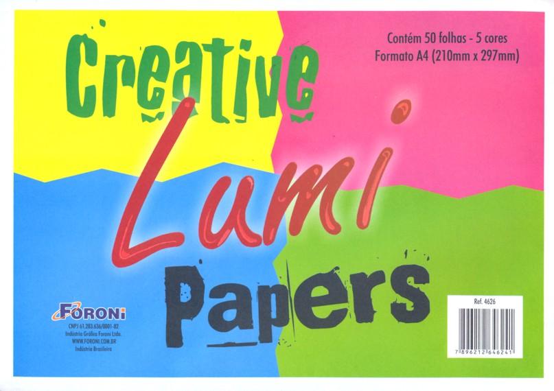 Bloco Creativo Papers Lumi