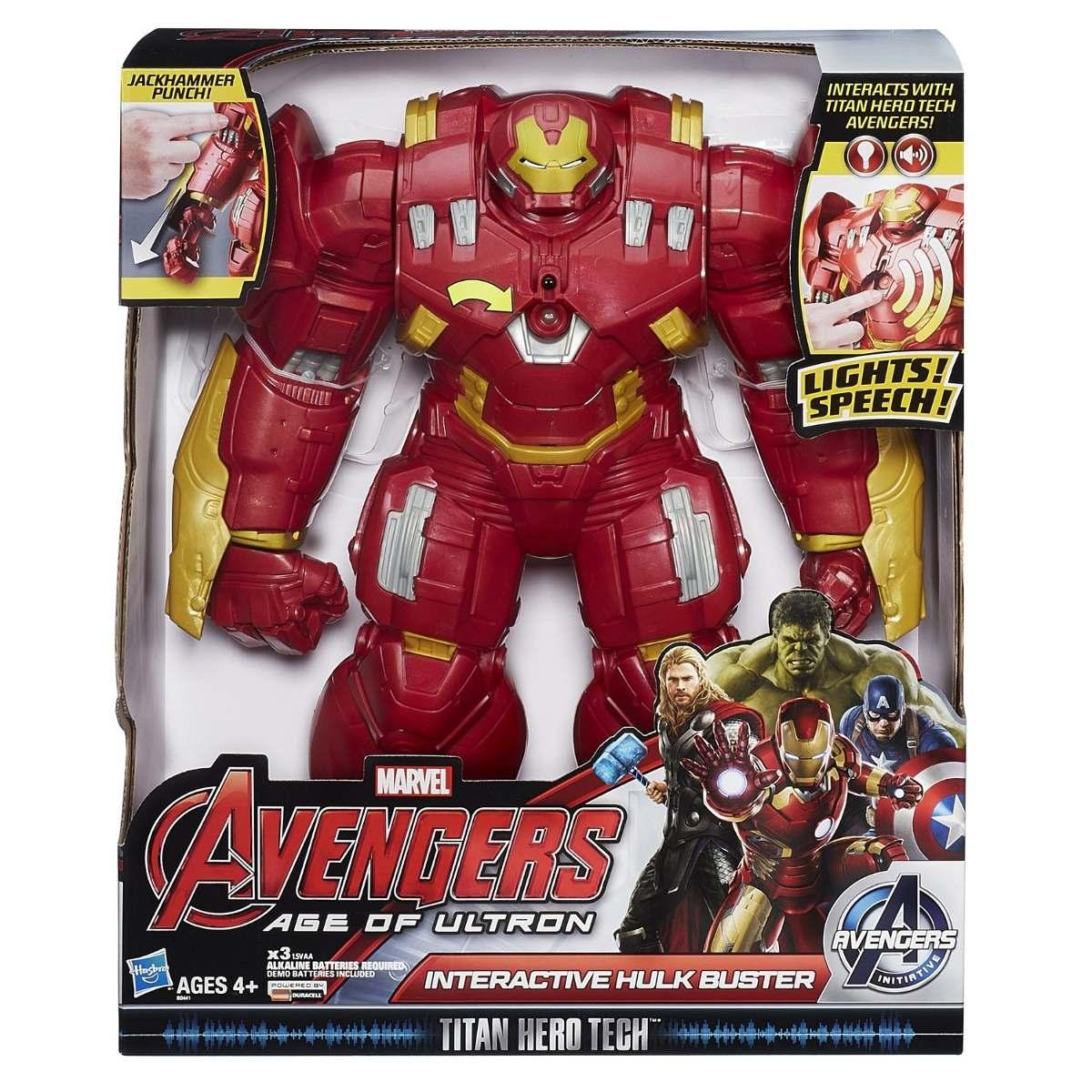 Avengers Hulk Buster Eletrônico
