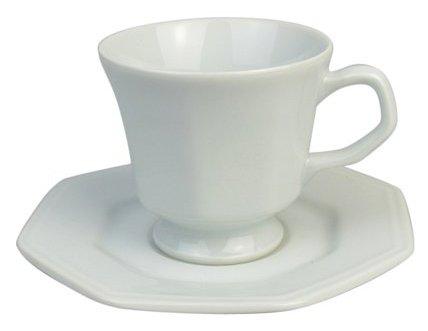 Xícaras Chá c/ Pires Prisma