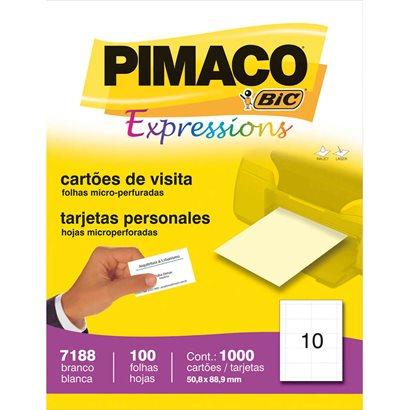 Etiqueta Pimaco Expressions - Etiqueta Cartão Visita