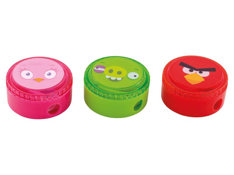 Apontador c/ deposito Angry Birds