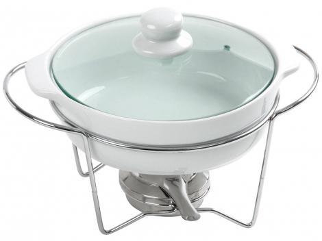 Rechaud c/ Queimador Porcelana