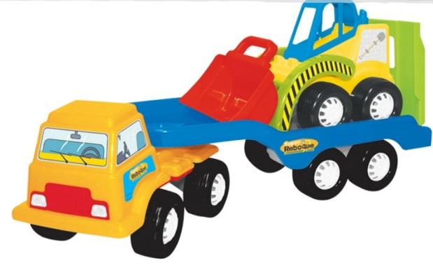 Caminhão Super Reboque