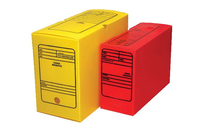 Arquivo Morto Plástico - Golden
